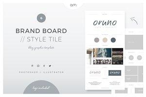 Brand Board / Style Tile 6