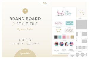 Brand Board / Style Tile 7