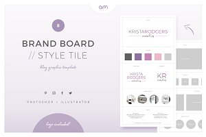 Brand Board / Style Tile 8