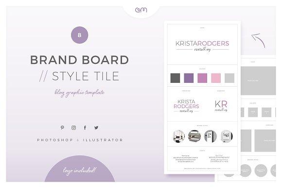 Brand Board Style Tile 8