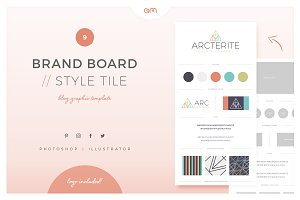 Brand Board / Style Tile 9