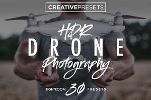 +30 HDR - Drone Lightroom Presets