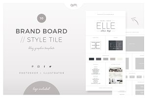 Brand Board / Style Tile 10