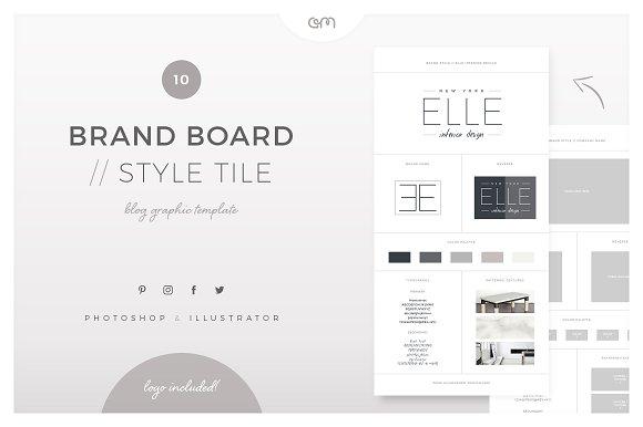Brand Board Style Tile 10