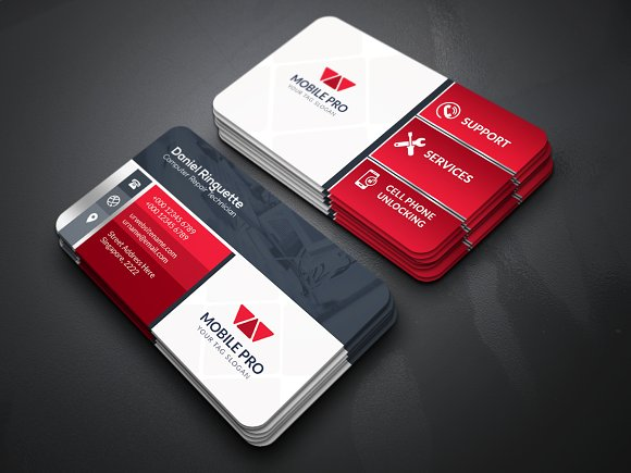 Mobile Repair Business Card