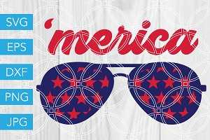Merica SVG July 4th SVG 4th of July