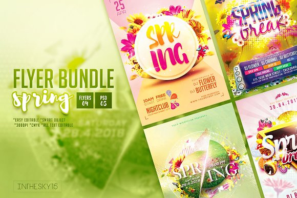 Spring Flyer Bundle