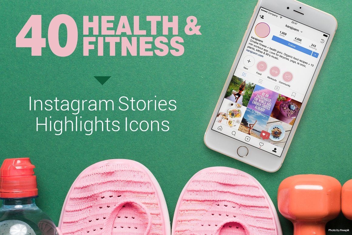 Health & Fitness Instagram Stories