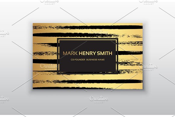 Vector Business Card Luxury Business Card Design