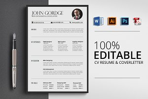 Word Office CV Resume