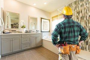 Contractor Facing Master Bathroom