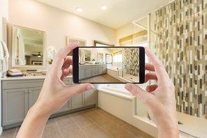 Phone Picture of Bathroom Interior