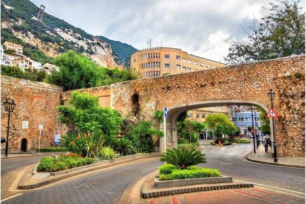 Ragged Staff Gates in Gibraltar