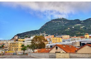 View of Gibraltar City
