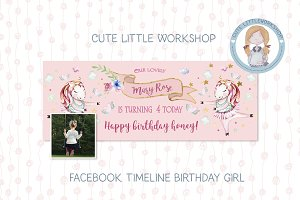 Facebook Timeline Birthday Template