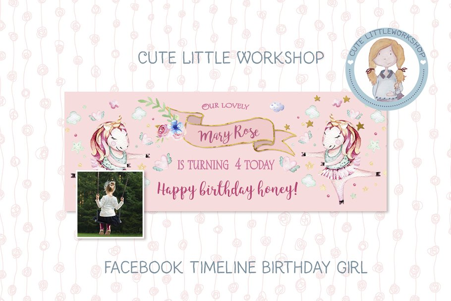 Facebook Timeline Birthday Template Website Templates Creative