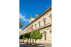 Casa consistorial, the city hall of Sevilla, Spain