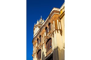Casa Ocana Carrascosa, a historic building in Seville, Spain. Built in 1929