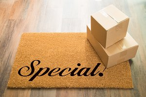 Special Welcome Mat & Packages