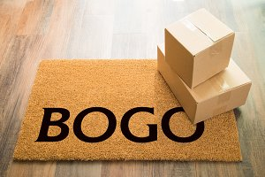 BOGO Welcome Mat & Packages