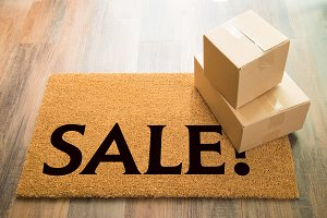 Sale Welcome Mat & Packages