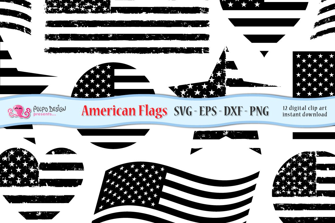 Free American Flag Black And White Png, Download Free Clip Art, Free Clip  Art on Clipart Library