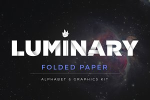 Alphabet & Graphics Kit Folded Paper