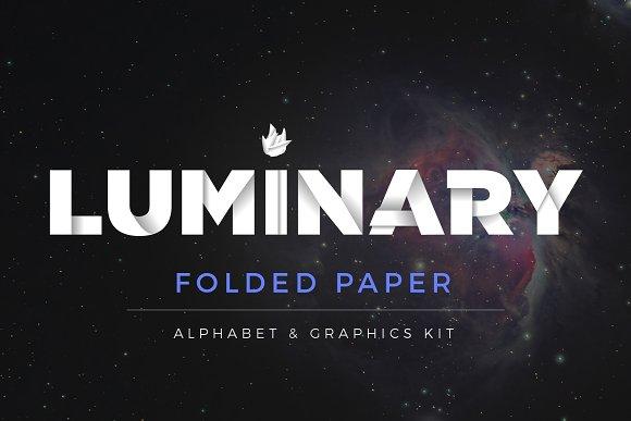 Alphabet Graphics Kit Folded Paper