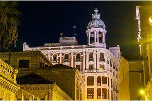 Casa Cerda, a historic building in Murcia, Spain. Built in 1936