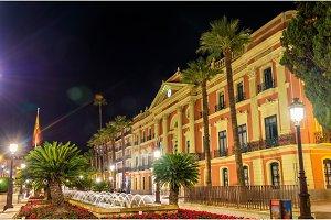 Casa Consistorial, a Government Building in Murcia City, Spain