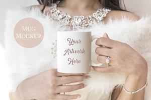 White Mug Mockup