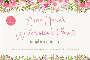 Anne Marie's Watercolour Florals
