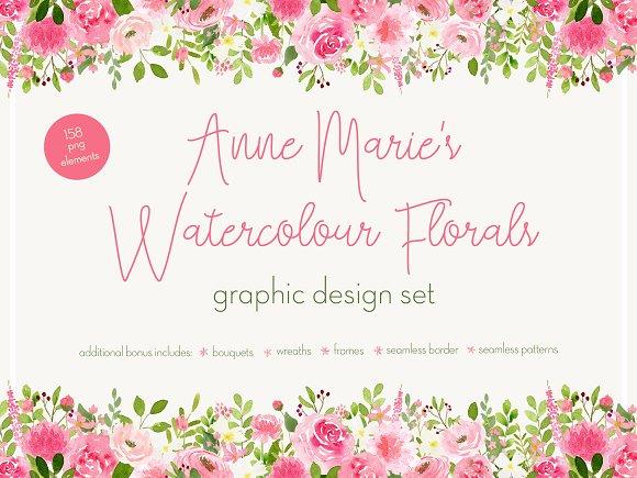 Anne Marie's Watercolour Florals