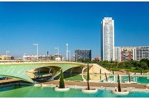 Puente de Monteolivete, a bridge in Valencia, Spain