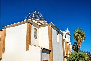 Iglesia Parroquial de Nuestra Senora of Monteolivete, a church in Valencia, Spain
