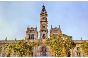 Casa Consistorial, the city hall of Valencia, Spain