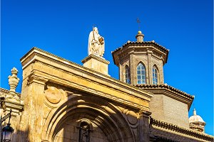 San Pablo Church in Zaragoza, Spain
