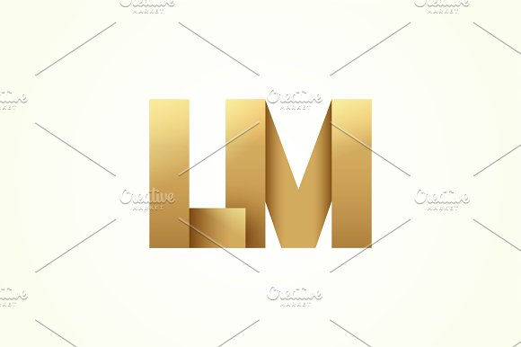 LM Golden Logotype
