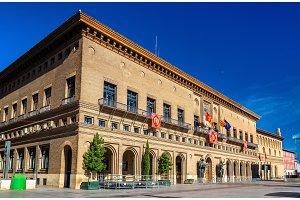 The City Hall of Zaragoza - Spain, Aragon