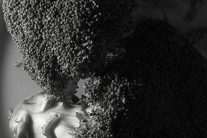 Broccoli black & white