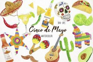 Cinco de Mayo Clipart, Fiesta