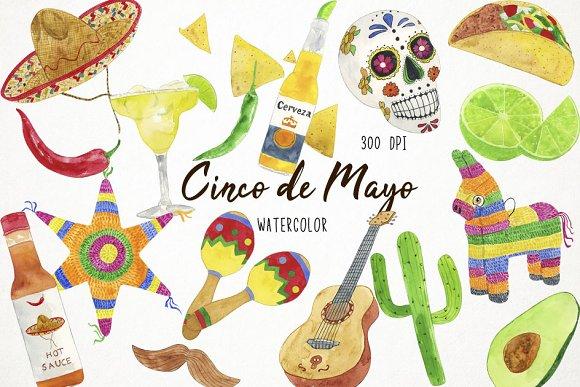 Cinco De Mayo Clipart Fiesta