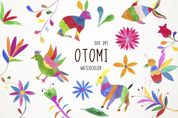 Otomi Clipart