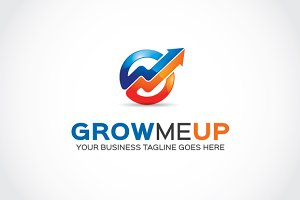 Grow me Up Logo Template