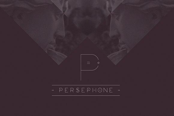 Persephone Display Font