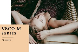 VSCO M series Lightroom presets