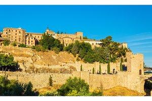 Museum of Santa Cruz, Convento de La Concepcion and Alcantara Bridge in Toledo, Spain