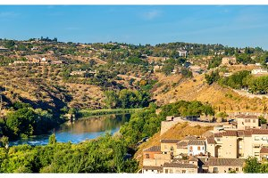 The Tagus River in Toledo, Spain