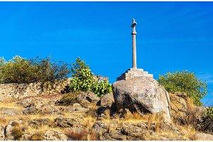 Cross on a hill near Toledo - Spain