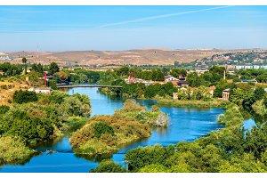 The Tagus River near Toledo, Spain